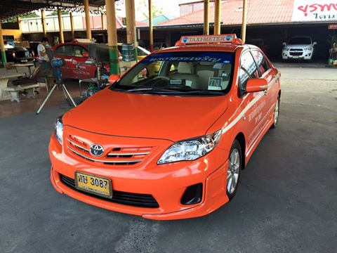 แท็กซี่มือสอง Altis E ปี 2012 เกียร์ออโต้ NGV เหลือวิ่งอีก 4 ปี 3