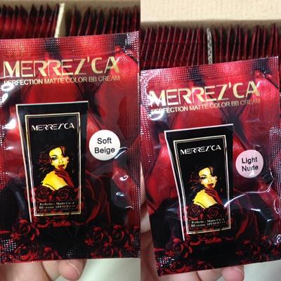 ขายส่งครีมซองเมอเรซกา Tester Merrezca Perfection Matte Color BB Cream SPF50/PA+++ บีบี เฟอร์เฟคชั่น แมท คัลเลอร์ ครีม SPF50/PA++