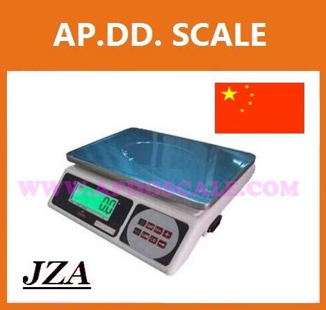 ตาชั่งดิจิตอล เครื่องชั่งดิจิตอล ตาชั่ง JZA Electronic-weighing scale เครื่องชั่ง 30kg ความละเอียด 1g มีแบตเตอรี่ชาร์จได้ (สามารถเพิ่มออปชั่นต่อปริ้นเตอร์ได้) ยี่ห้อ JZA รุ่น 30kg/1g