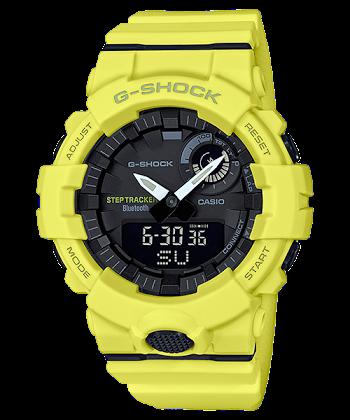 นาฬิกา Casio G-Shock G-SQUAD GBA-800 Step Tracker series รุ่น GBA-800-9A ของแท้ รับประกันศูนย์ 1 ปี