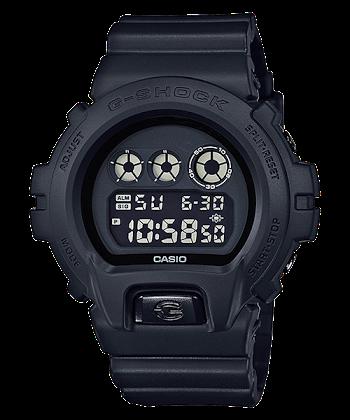 นาฬิกา CASIO G-SHOCK รุ่น DW-6900BB-1 (สายผ้า) LIMITED BLACK OUT BASIC SERIES ของแท้ รับประกัน 1 ปี