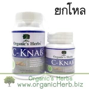 (ยกโหล ราคาส่ง) C-Knab Organic's Herbs 30+15 เม็ด ทำความสะอาดทางเดินหายใจ บำรุงปอด ช่วยให้หายใจโล่ง ฟื้นฟูปอด