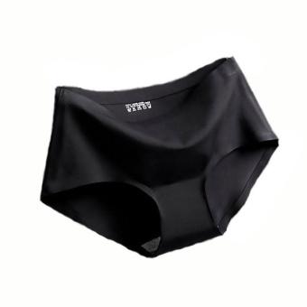 กางเกงในไร้ขอบ สีดำ