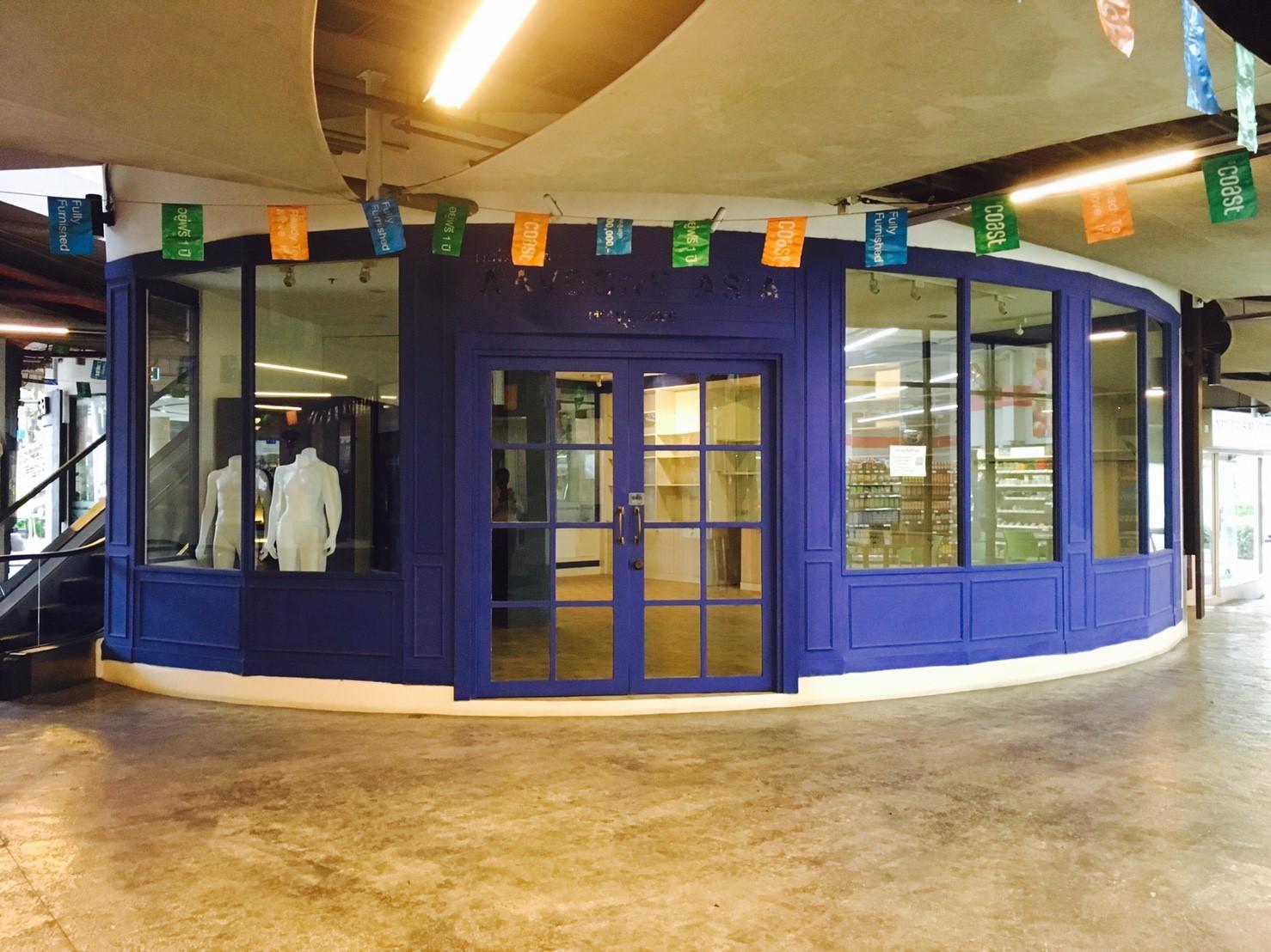พื้นที่ร้านค้าให้เช่าตกแต่งครบขนาด 57.94 ตารางเมตร