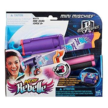 ปืน Nerf Rebelle Secrets & Spies Mini Mischief Blaster ของแท้ ส่งฟรี