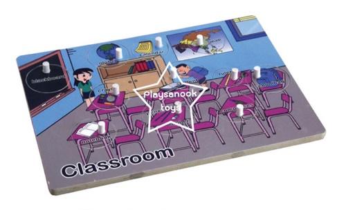 SKC-72 ภาพตัดต่อห้องเรียน Classroom