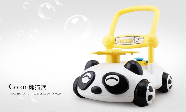 รถผลักเดิน Panda Walker แบบปรับล้อหนืด มีดนตรี มีไฟ ส่งฟรี