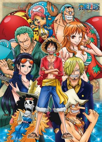Straw Hat Pirates - Jigsaw One Piece ของแท้ JP แมวทอง