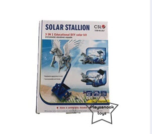 PS-6033 ชุดม้าลากพลังงานแสงอาทิตย์ solar stallion 3 in 1