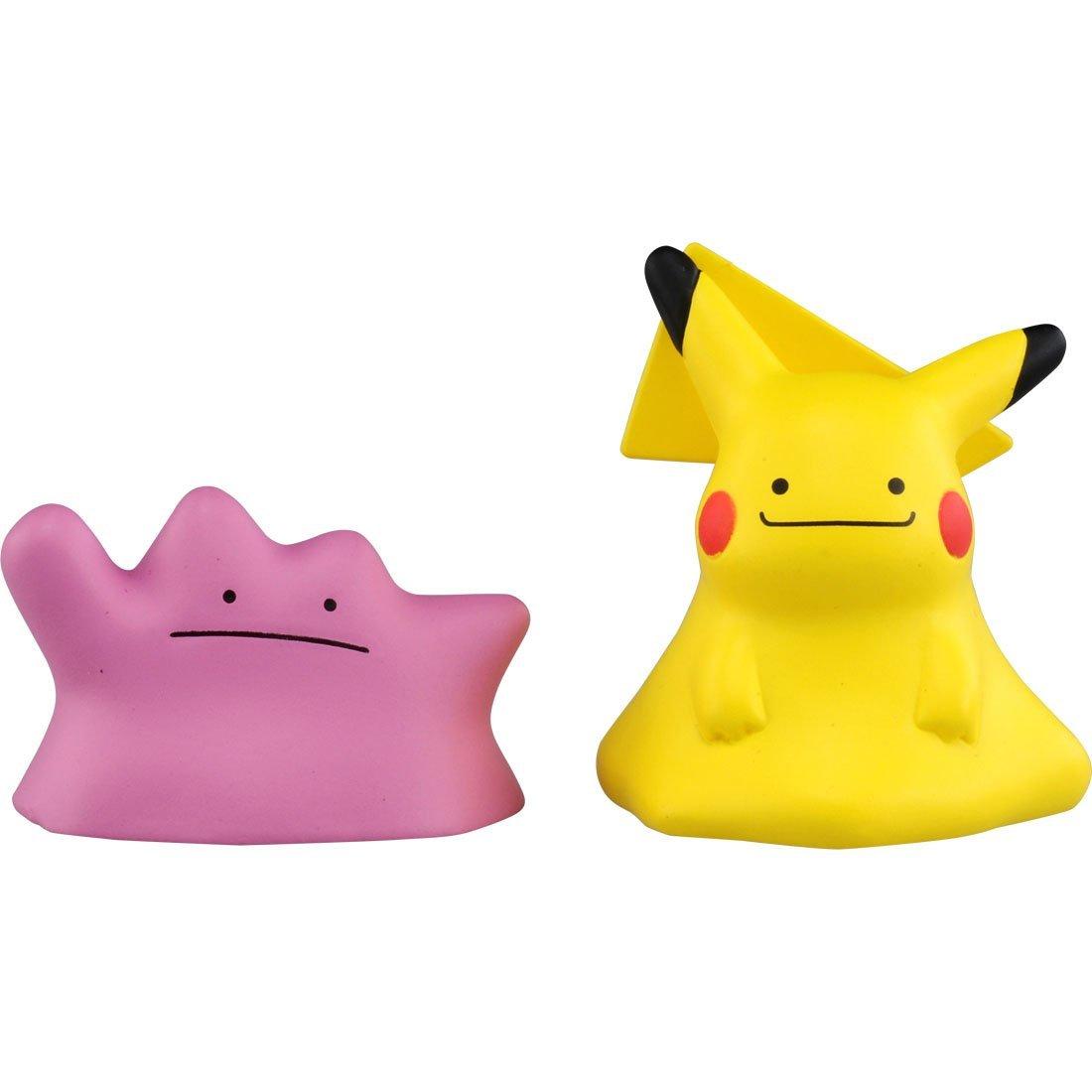 Pikachu and Metamon ของแท้ JP - Takara Tomy Moncolle EX [โมเดลโปเกมอน] ( 2 ตัว )