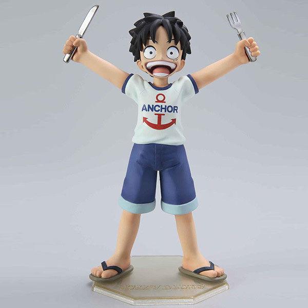 Luffy Child ของแท้ JP แมวทอง - POP CB Megahouse [โมเดลวันพีช]