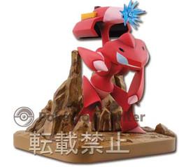 Shiny Genesect พร้อมฉาก ของแท้ JP - Ichiban Kuji Banpresto [โมเดลโปเกมอน]
