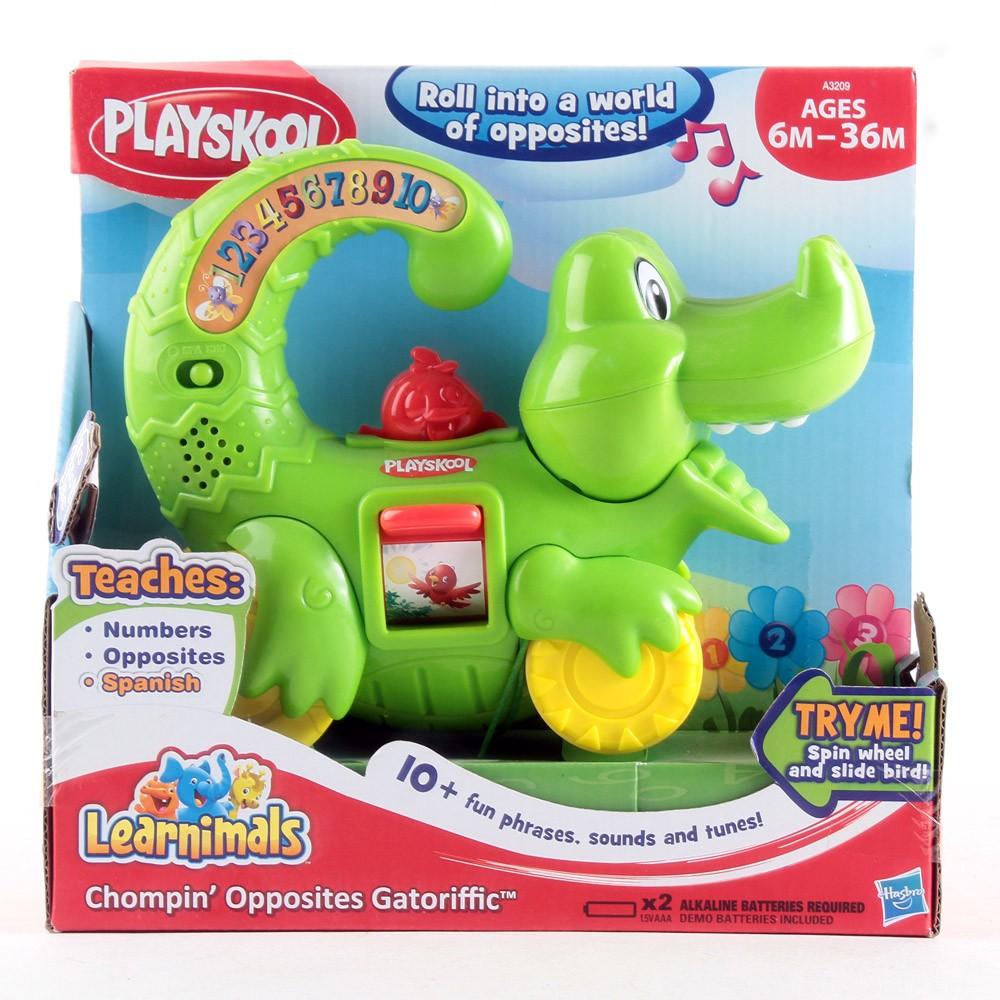 Playskool Learnimals Chompin' Opposites Gatoriffic Toy ของแท้ งานห้าง ส่งฟรีพัสดุไปรษณีย์