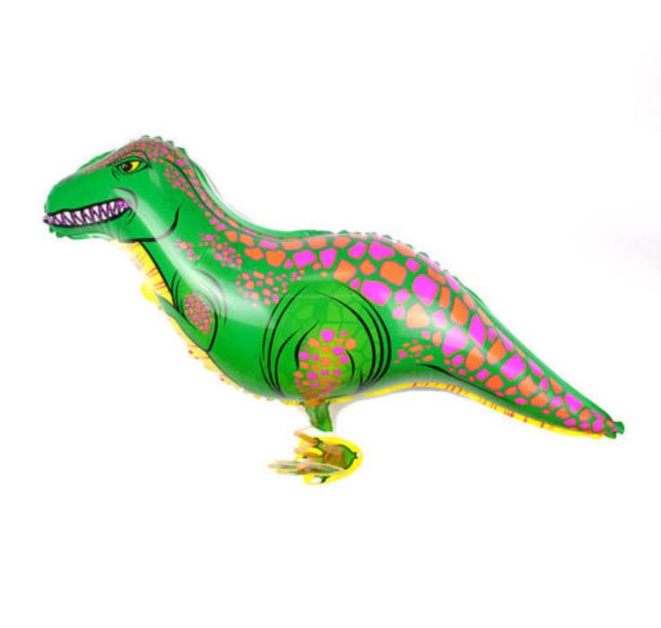 ลูกโป่งฟอยล์ไดโนเสาร์เดินได้ (แบบ B)