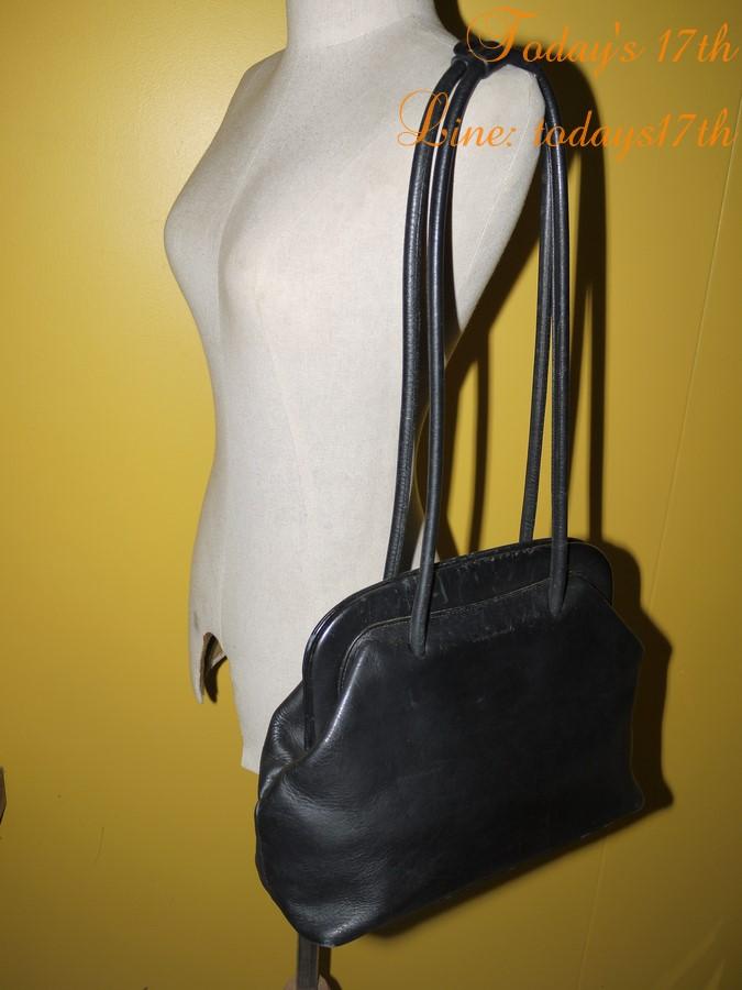 กระเป๋าหนังแท้สะพายไหล่ Vintage