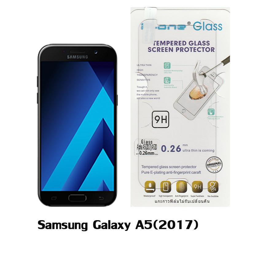 P-one ฟิล์มกระจก Samsung Galaxy A5(2017)