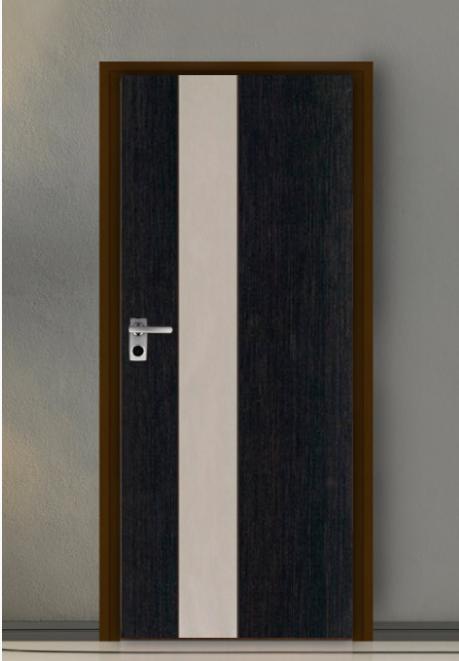 ประตู Leo iDoor Series1 LW-11-Silver Ebony Oak(ภายใน) 3.4*80*200 เมตร