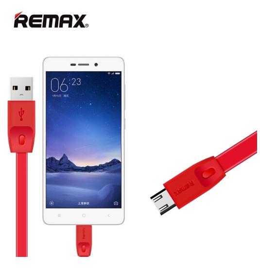 Remax สายชาร์จ USB Micro FullSpeed Charger&DATA cable 1M RC-001m
