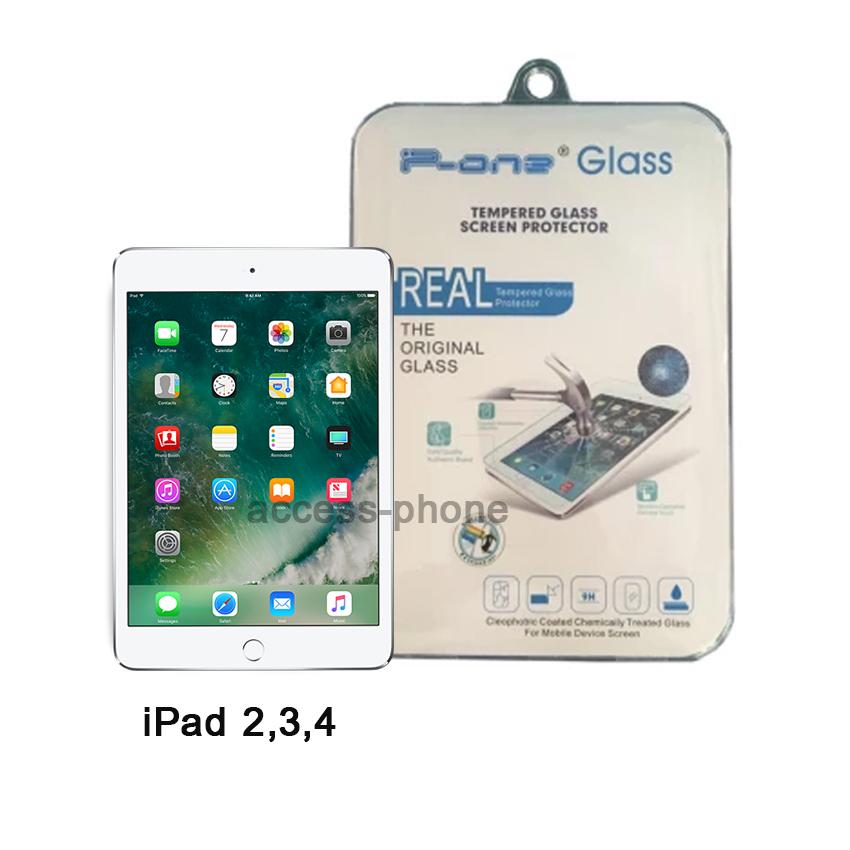 P-one ฟิล์มกระจก iPad 2,3,4