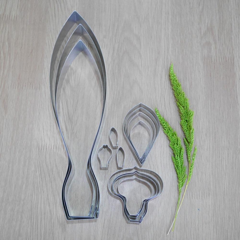 พิมพ์ตัด กระเจียว L (ปทุมา) (Siam Tulip L cutter)