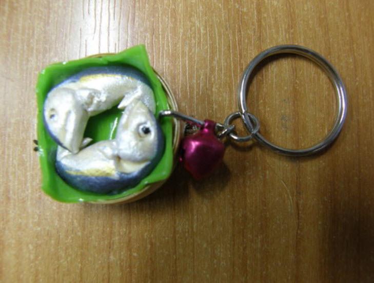 พวงกุญแจปลาทู 1 อัน