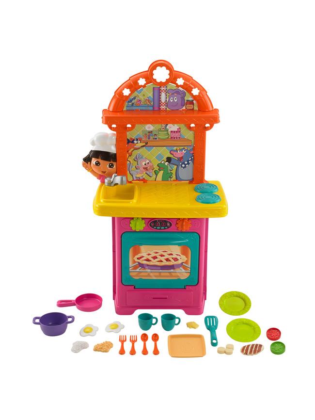 ชุดครัวโดร่า Dora the Explorer: Sizzling Surprises Kitchen