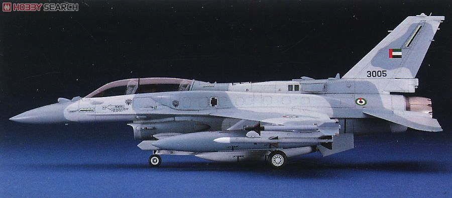 1/48 F-16F (Block 60) Fighting Falcon by Hasegawa (HA07244)