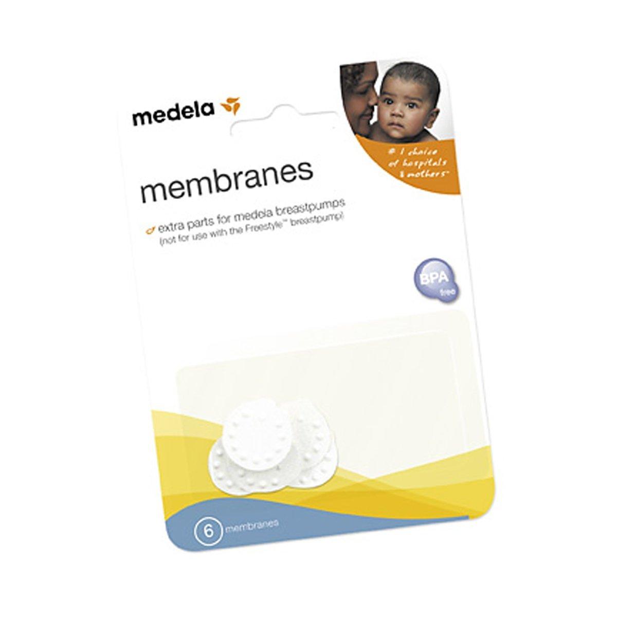 เมมเบรน สำหรับเครื่องปั๊มนม Medela แพค 6 ชิ้น (Medela Membrane Set of 6 )