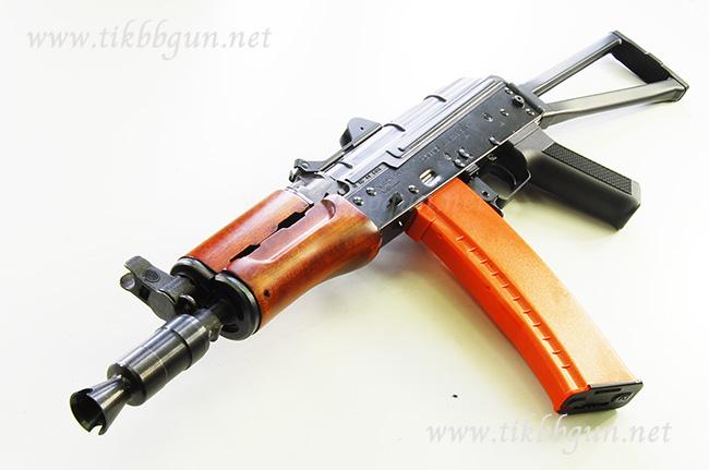 ปืนอัดลม ระบบไฟฟ้า AK47U ไม้แท้ CA (รหัส CA018M)