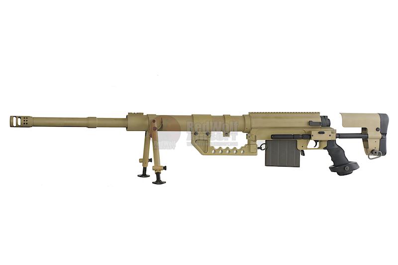 ปืนอัดลมเบาแบบชักยิงสปริงทีล่ะนัด รุ่น M200 Bete Project (Tan)
