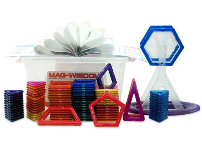 108 ชิ้น ตัวต่อแม่เหล็ก ของ MAG-WISDOM