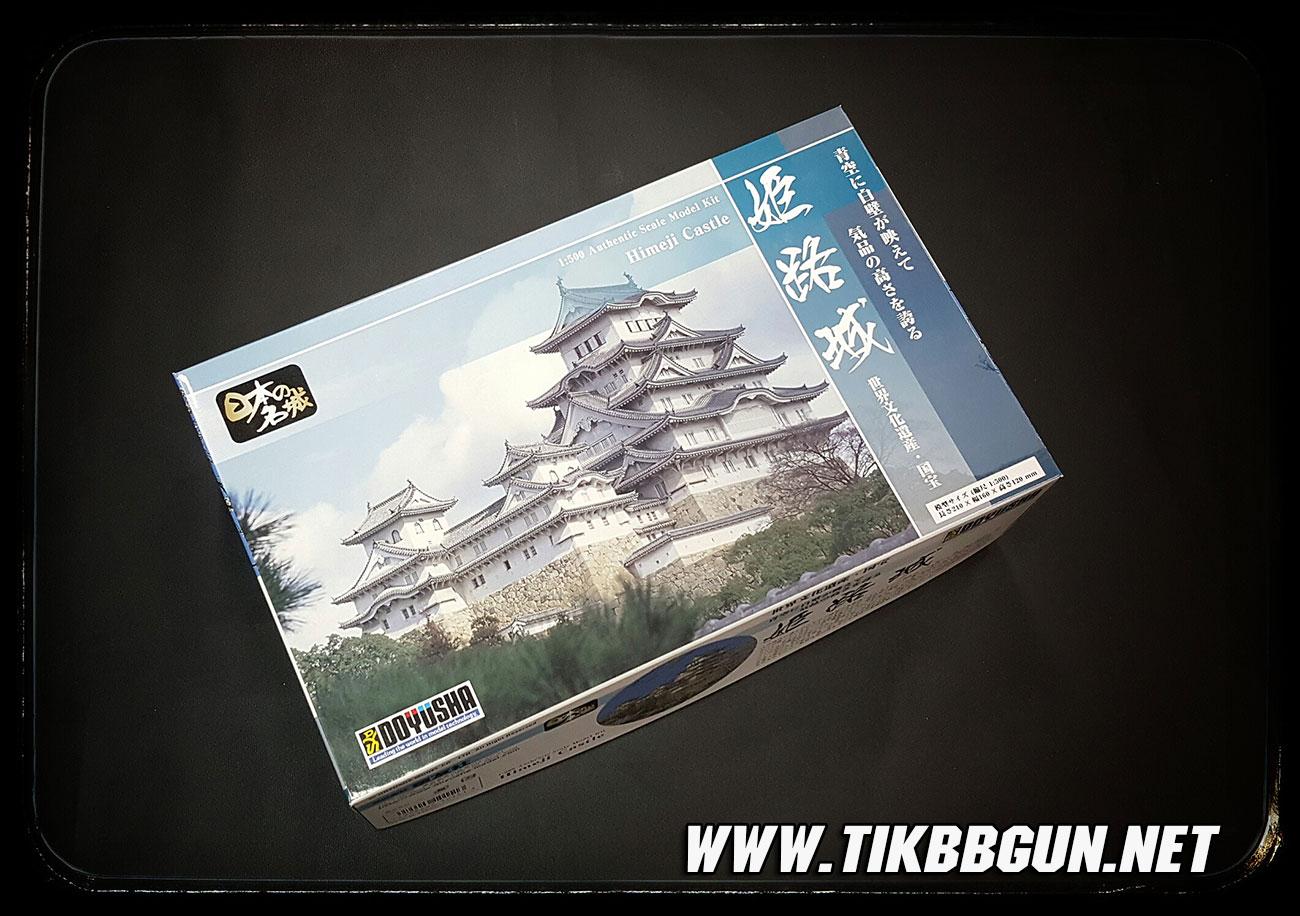 โมเดลปราสาท Himeji Castle ขนาด 1:500 จากค่าย Doyusha S21