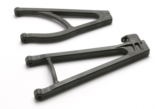 Suspension arms, adjustable wheelbase right side (upper arm (1)/ lower arm (1))