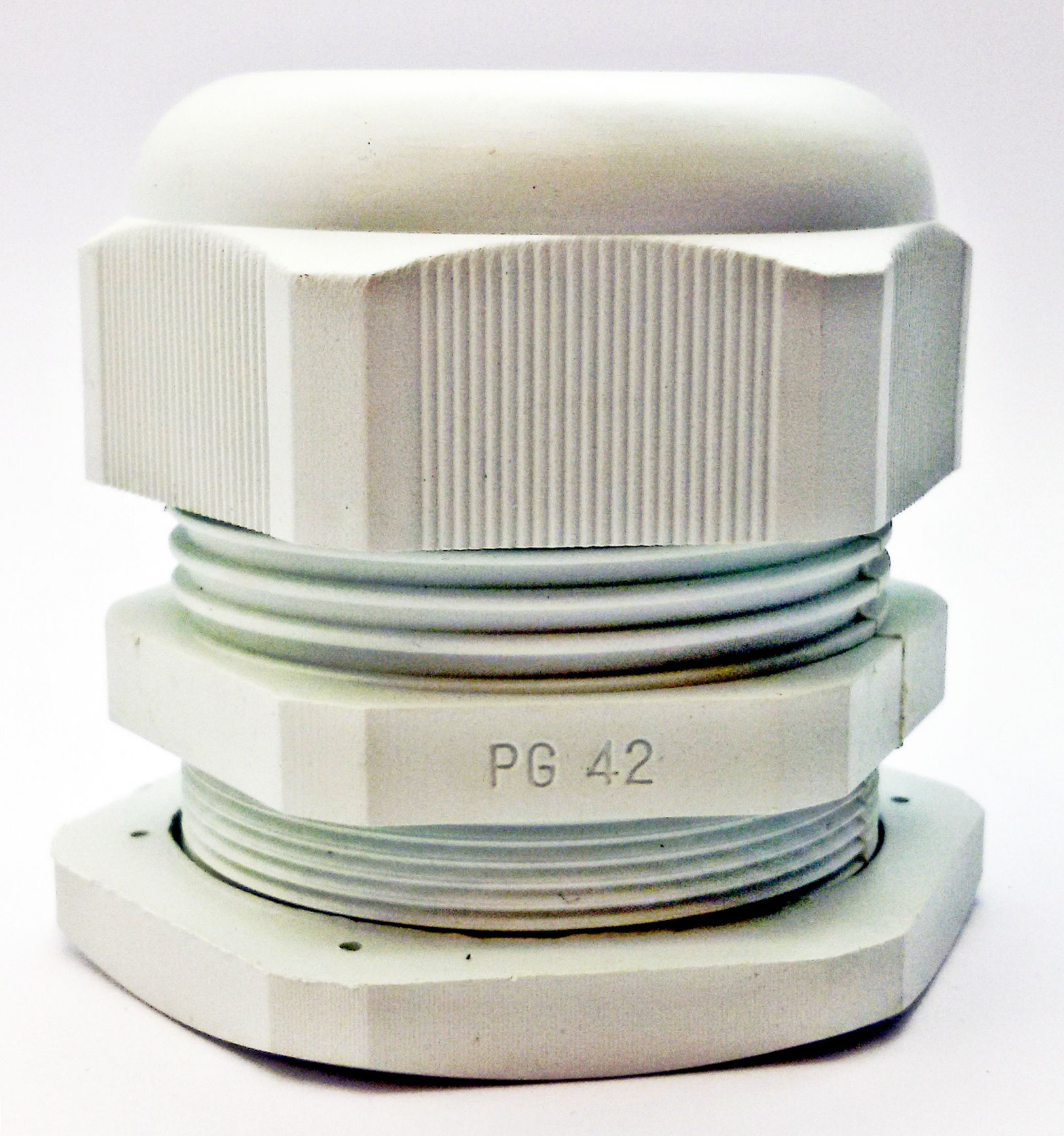 LOBO ELECTRIC CABLE GLAND PG42 32 - 38 mm. สีขาว