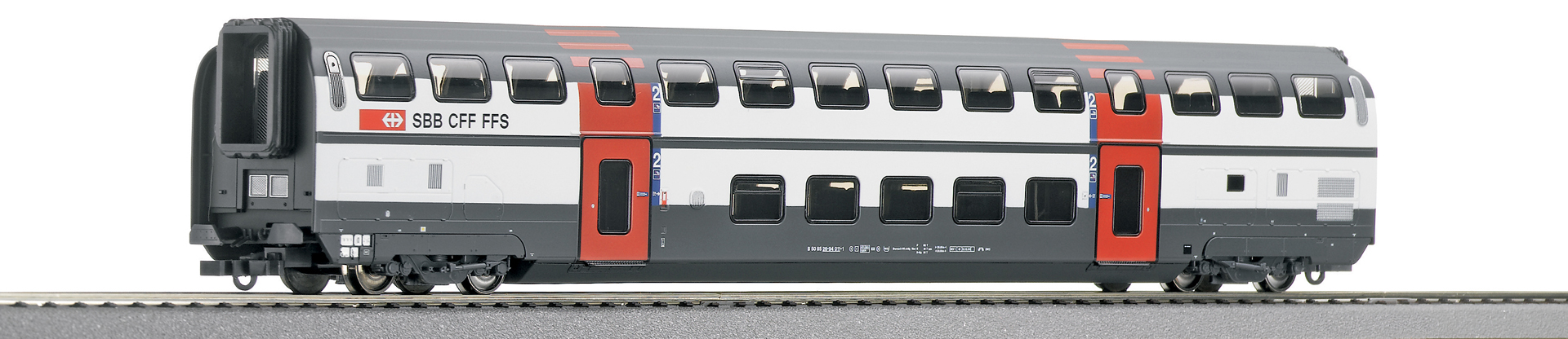 Roco64852 IC2000 double deck SBB cl2