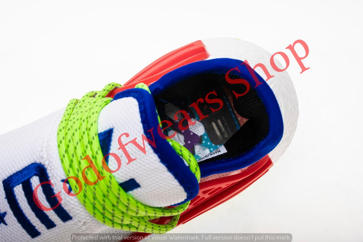 2071742c81415 Adidas NMD Boost Human Race Creme X PW - GodofWears   Inspired by ...