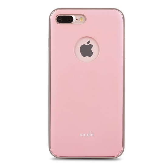 เคสกันกระแทก Moshi iGlaze for iPhone8Plus/7Plus -Taupe Pink สีชมพู