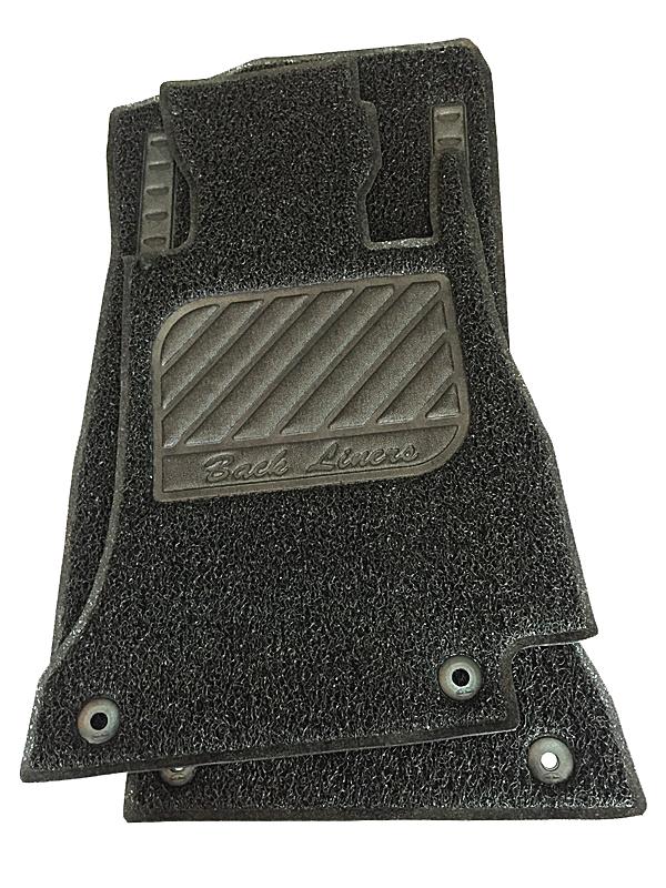 พรมดักฝุ่นไวนิล BENZ C-CLASS W205 รุ่น VINYL MAT รีดขอบ สีดำ...ส่งฟรี