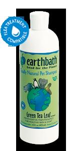 Earthbath GREEN TEA แชมพูสำหรับอาการขนร่วง