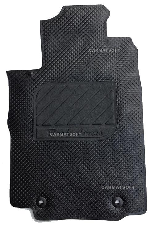 ยางปูพื้นรถยนต์ NEW CR-V G4 รุ่นMini Matเม็ดเล็กรีดขอบสีดำ เต็มคัน