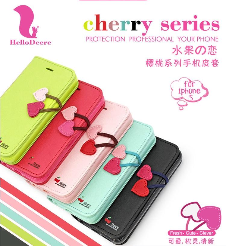 เคส iPhone5/5s Hello Deere - Cherry Series