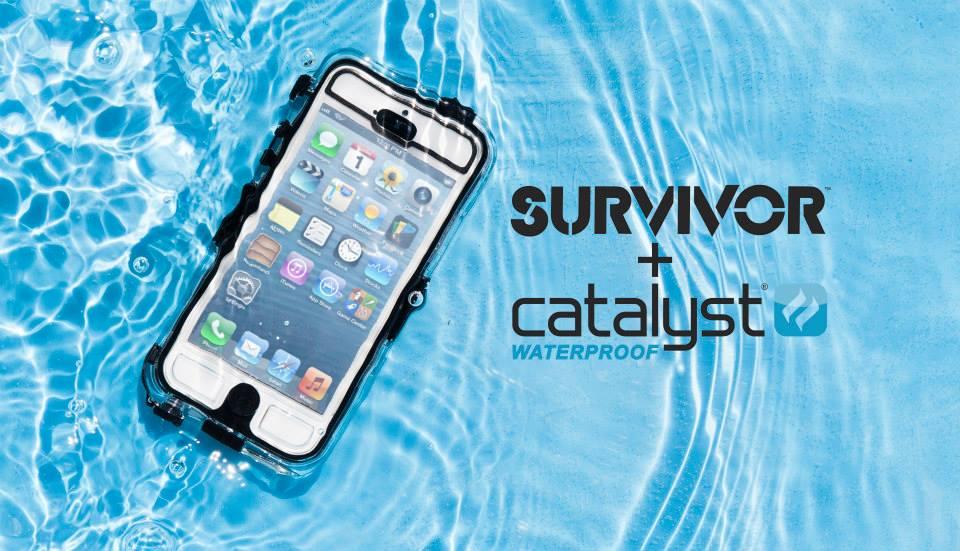 เคสกันน้ำ iPhone5/5s - Survivor + Catalyst