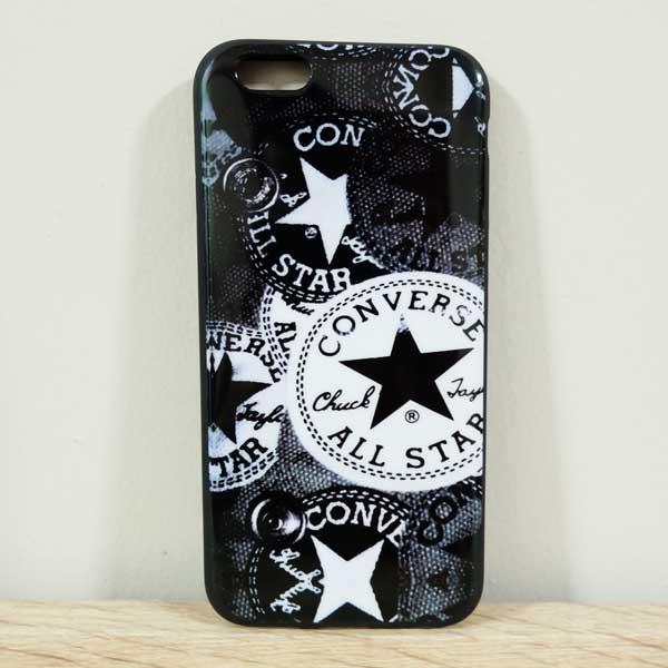 เคสไอโฟน 6/6s เคสยางลาย Converse