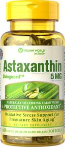 Vitamin World - Astaxanthin 5 mg 60 Softgels