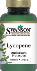 Swanson Vitamins - Lycopene 20 mg 60 Softgels