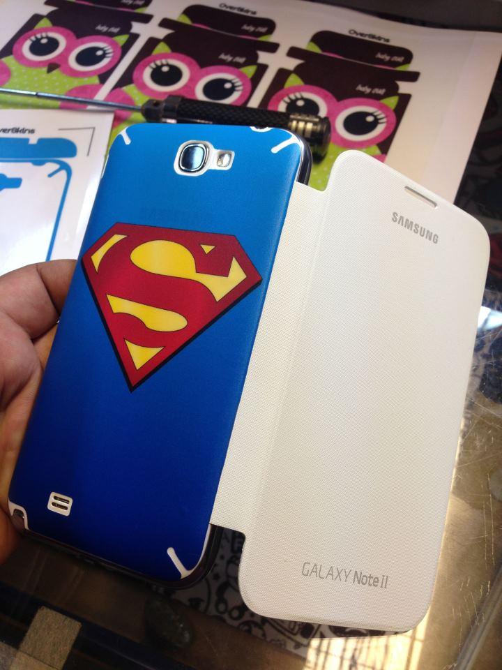 Galaxy Note 2 ลาย Superman