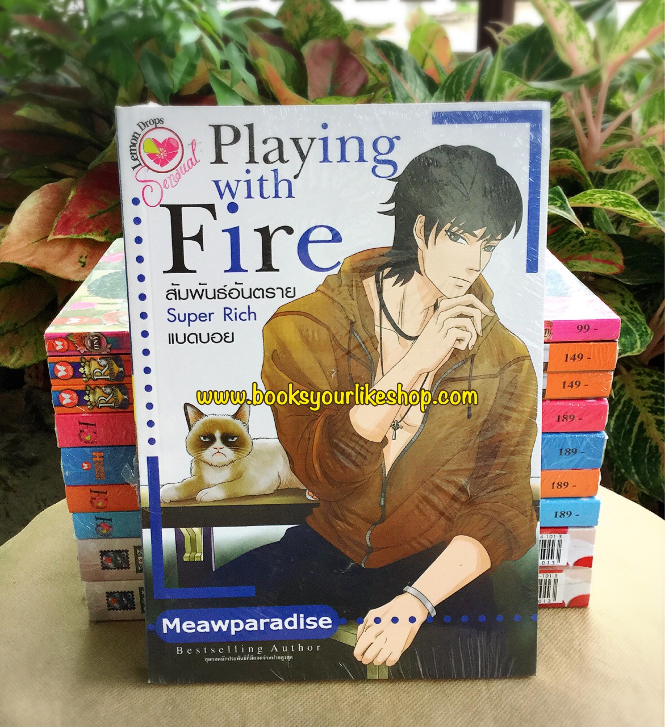 Playing with Fire สัมพันธ์อันตราย Super Rich แบดบอย / Meawparadise อินเลิฟ หนังสือใหม่