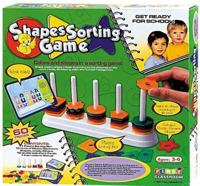 Shape Sorting Game เกมส์แยกประเภทรูปทรง