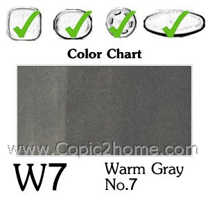 W7 - Warm Gray No.7