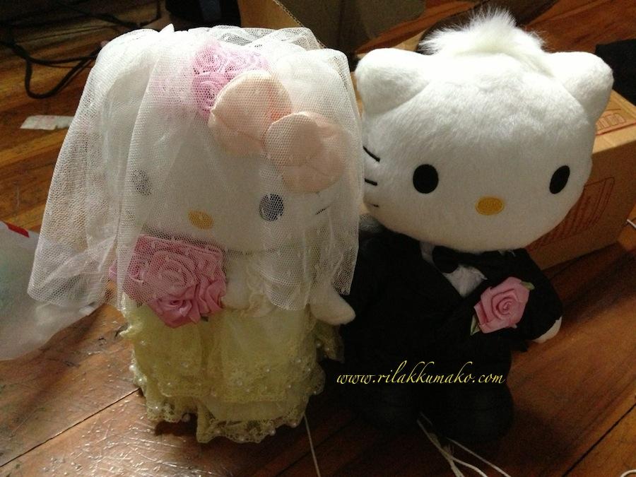 ตุ๊กตาคิตตี้ แต่งงาน
